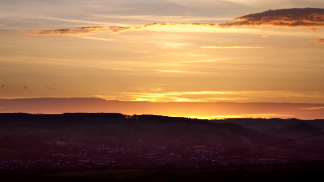Devon Hills Sunset timlapse