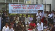 Dhaka 16 november 2016 Bangladesh Journalist leaders at a rally in front of the capital's Jatiya Press Club yesterday demanded formation of the 9th...