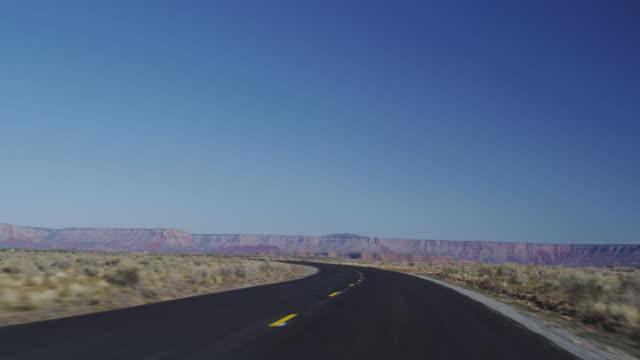 MS TS Diamond bar road towards city / Grand Canyon, Arizona, USA