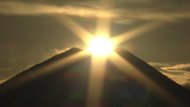 AERIAL, 'Diamond Fuji' On New Year's Day, Japan