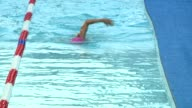 Diana Nyad the 64yearold woman who swam from Cuba to Florida attempts to swim for 48 hours straight in a pool installed in a Manhattan intersection...