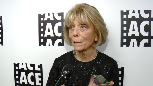 INTERVIEW Diane Adler on the honor at 65th Annual ACE Eddie Awards in Los Angeles CA