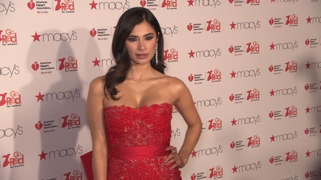 Diane Guerrero at The American Heart Association's Go Red For Women Red Dress Collection 2017 Presented By Macy's at Hammerstein Ballroom on February...