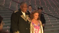 Diane von Furstenberg and Andre Leon Talley at the 8th Annual Tribeca Film Festival Vanity Fair Party at New York NY