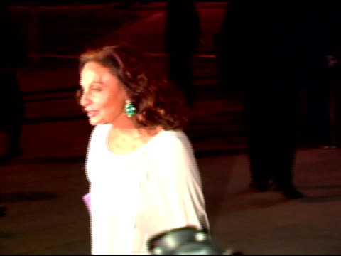 Diane Von Furstenberg at the 2006 Tribeca Film Festival Vanity Fair Party at State Supreme Courthouse in New York New York on April 26 2006