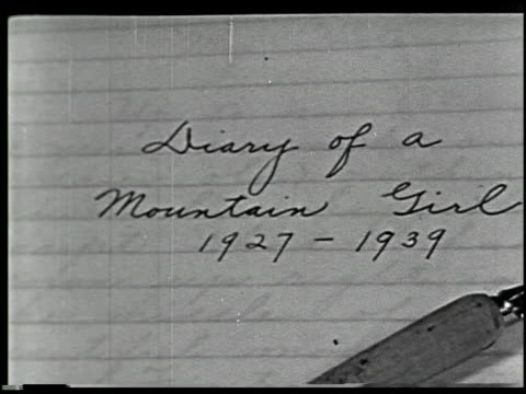 Diary of a Mountain Girl, 1927-1939 - 1 of 18