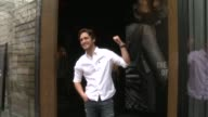 CHYRON Diego Boneta Stops By The Abercrombie Fitch Store To Kick Off The Launch Of Their 'The Making Of The Star' Spring Campaign at Abercrombie...