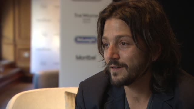 INTERVIEW Diego Luna the complexity of the immigration reform at 'Cesar Chavez' Interview at Westin Grand Hotel on February 12 2014 in Berlin Germany