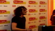 DieselUMusic Awards 2006 interviews General views of Alex Zane posing for photocall **flash photography**