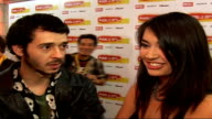 DieselUMusic Awards 2006 interviews MC Lord Magrao and Aristazabel Hawkes interview SOT Explain who they are / Didn't expect to win the Mercury prize...