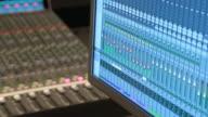 Digital audio workstation, audio console