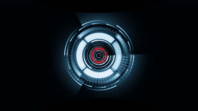 Digital Circle spin,technology background