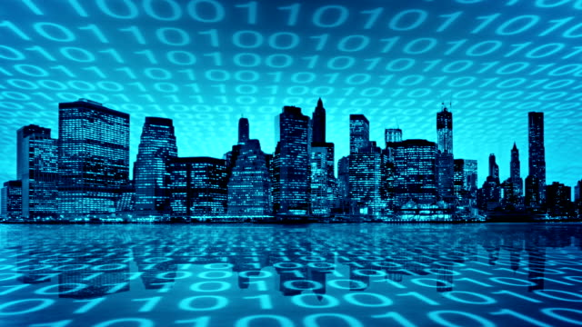 Digitale Stadt.