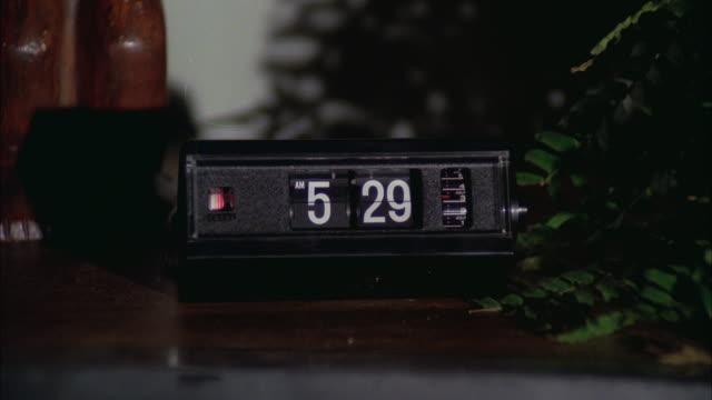 CU Digital clock on desk