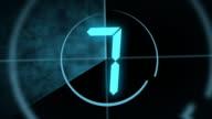 Digitale Countdown-Leader