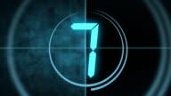 Digital Countdown Leader
