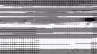 Digitalanzeige-Glitch-Verschiebungs-Map