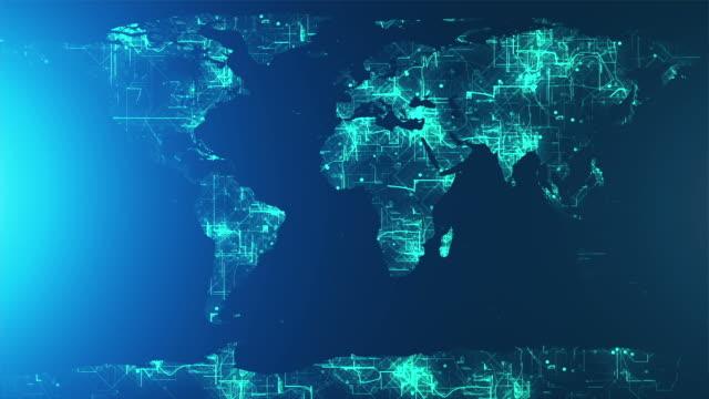 Terra digitale mappa