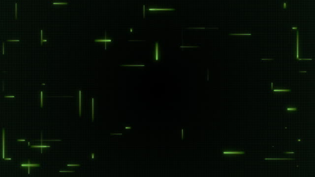 Digital Green Light Streaks
