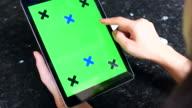 Digital green screen tablet
