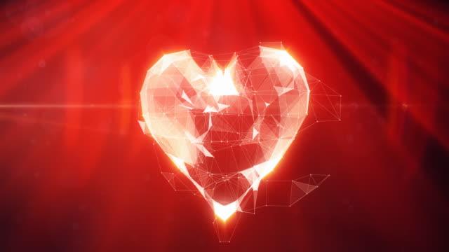 Digitale Herz Animation/4 K