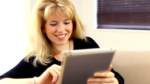 Digital tablet girl.