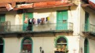 MS Dilapidated house with balcony / Panama City, Panama