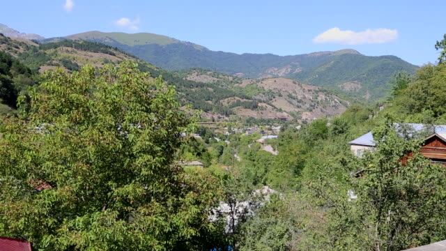 Dilijan, view of the city and the national forest