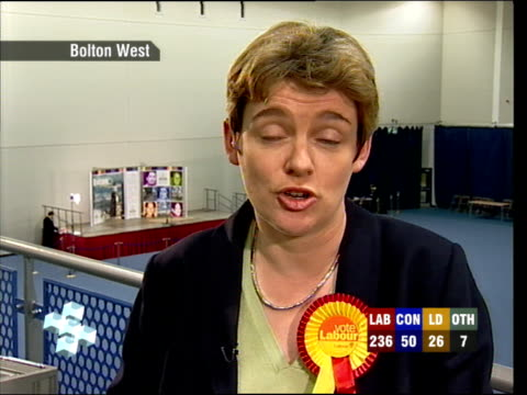 Dimbleby 023804 Ruth Kelly live 2way interview ex Bolton West SOT I was making my own speech / It's huge privilege to serve in government but...