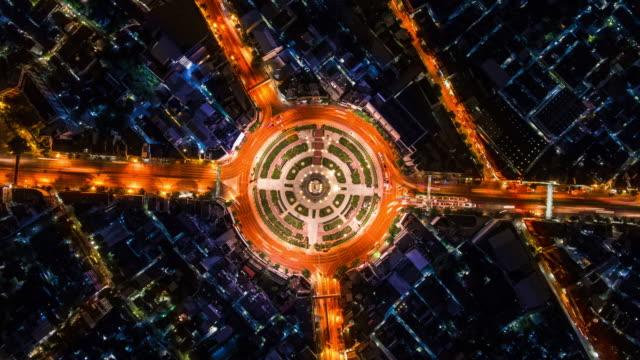Direct boven de luchtfoto verkeer