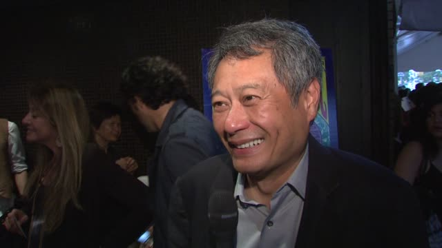 Director Ang Lee on how he handled the huge number of extras used in the film at the 'Taking Woodstock' New York Premiere at New York NY