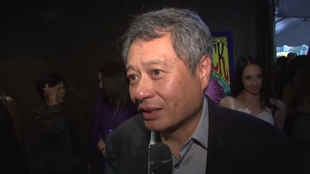 Director Ang Lee on why the Woodstock era is of great interest to him at the 'Taking Woodstock' New York Premiere at New York NY