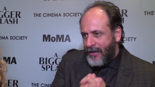 INTERVIEW Director Luca Guadagnino on what was appealing to him about this story On the story he wanted to tell On working with long time friend...