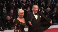 Director Paolo Virzi Micaela Ramazzotti Helen Mirren Donald Sutherland and more on the red carpet for the Premiere of The Leisure Seeker at the...