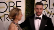 Director Sam TaylorJohnson and Aaron TaylorJohnson at the 74th Annual Golden Globe Awards Arrivals at The Beverly Hilton Hotel on January 08 2017 in...
