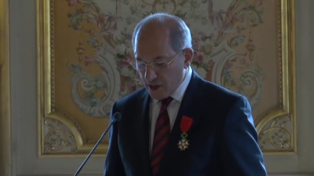 DirectorGeneral of the Organization for the Prohibition of Chemical Weapons Ahmet Uzumcu receives 'Legion d'Honneur' from French Foreign Minister...