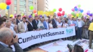 Directors and journalists from one of Turkey's most respected opposition newspapers went trial Monday after spending over eight months behind bars in...