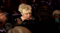 'Dirty Dancing' celebrity arrivals / interviews Barbara Windsor interview SOT Patrick Swayze did not rock your boat No I'm more Gene Kelly / I'm not...