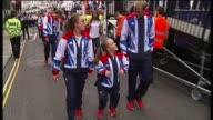 London Paralympics 'failed to change attitudes towards disability' TX London EXT British Olympics and Paralympics Athletes' Parade