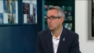 London Paralympics 'failed to change attitudes towards disability' London GIR INT Tim Hollingsworth STUDIO interview SOT