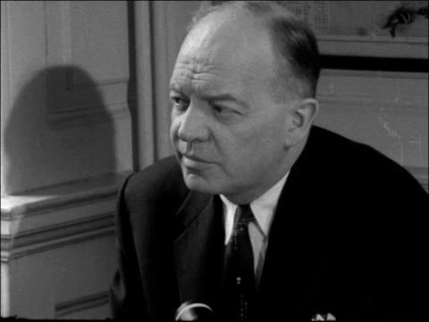 press conference with US spokesman ENGLAND London INT Harold Stassen press conference SOF As you know we unexpectedly developed quite an extensive...