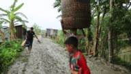 Disaster prone area of an island that affected by soil erosion in Coastal area in Bangladesh on August 14 2017 Bangladesh a country which is ranked...
