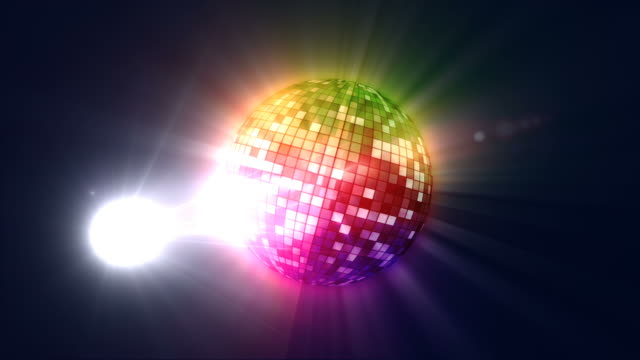 Disco Ball and Paparazzi Flashes HD