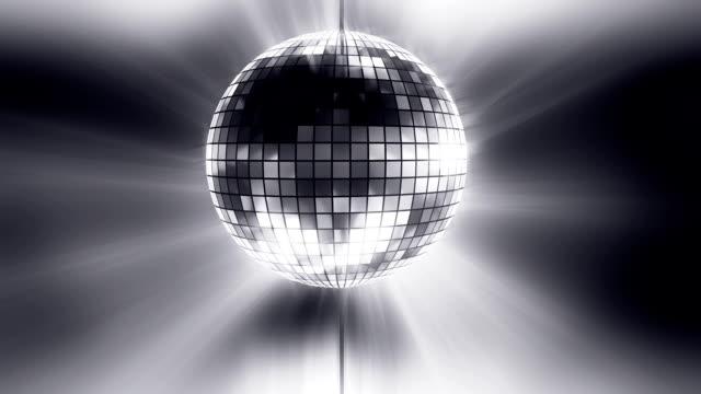 Disco ball background loop