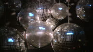 Disco ball. Night club lighting equipment.