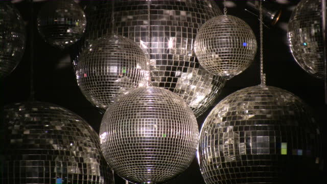 Disco ball. Night club lighting equipment.