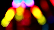 Disco defocused lights