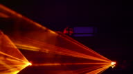 Disco Laser Licht Nahaufnahme (Endlos wiederholbar)