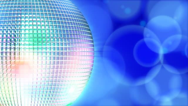 Discoball #5 HD blue