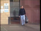 Disgraced former Cabinet Minister Jonathan Aitken from prison on release after serving a sentence for perjury Aitken arriving to church with family...